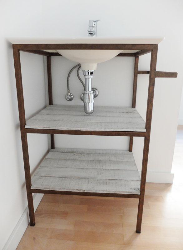 mueble hierro personalizado