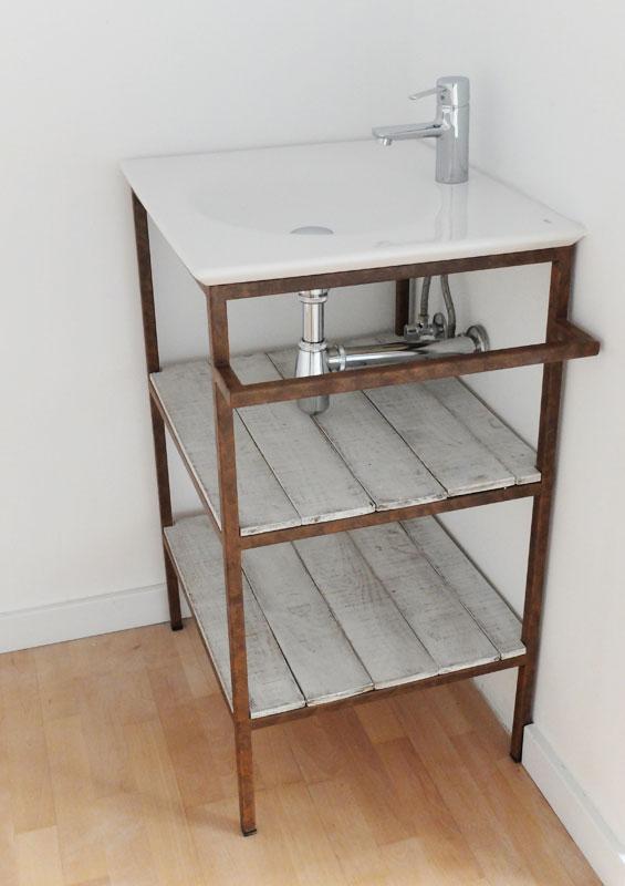 Muebles a medida dise o personalizado regalos - Mueble lavabo madera ...