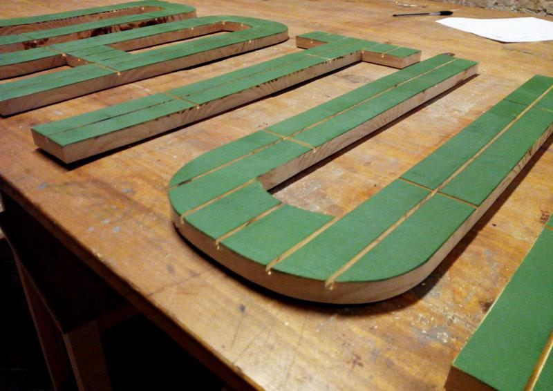 Mostradores y r tulos barcelona muebles a medida - Casa letras madera ...