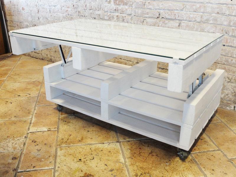 Mesas con palets de madera best formas de reciclar - Mesas palets madera ...